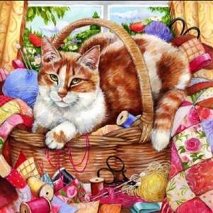 Очаровательные кошки Дебби Кук