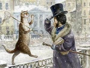 Ученый кот в творчестве А.С. Пушкина