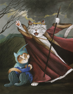 Бальзак и кошка