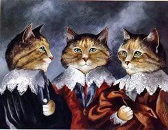 Кошачьи мушкетёры Дюма