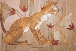 Кошки в живописи разных эпох