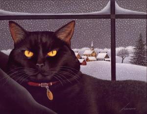 Охота на чёрных кошек.